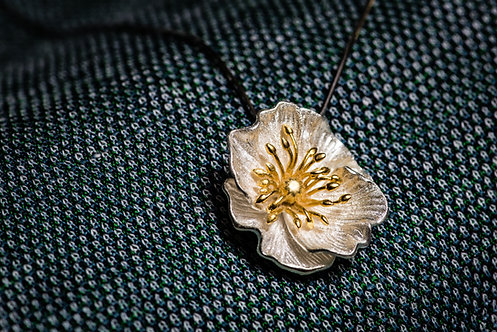 Ketting 'BLOOMING POPPIES'