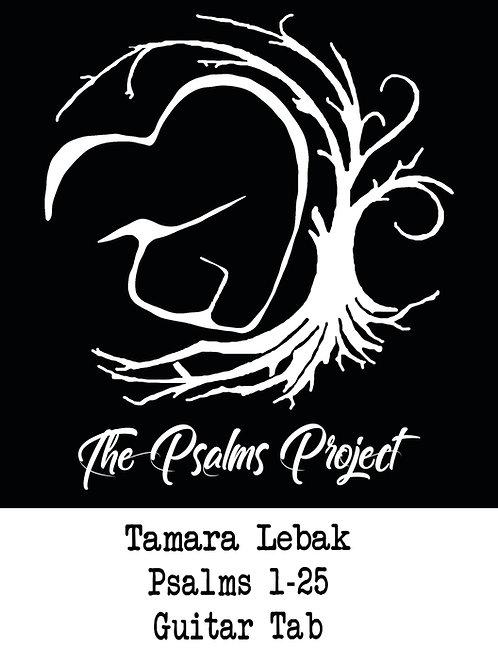 Psalms Project Guitar Tab Volume 1