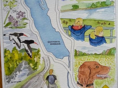 May Family Adventure – Gouthwaite Reservoir