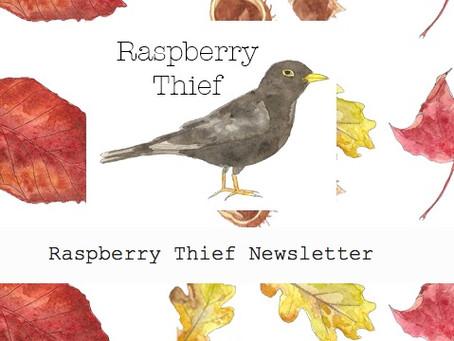 Raspberry Thief Newsletter 3