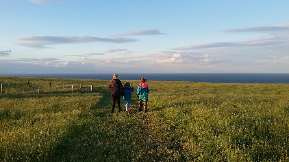 Hiking with kids Bempton Cliffs