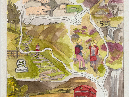 August Family Adventure – Kinder Scout – Cloughs, rocks, and 'death train engaged&