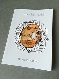 Inktober Book