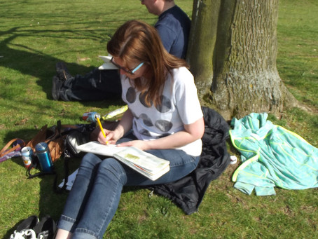 Outdoor Sketching – My journey and tips for taking that first step.