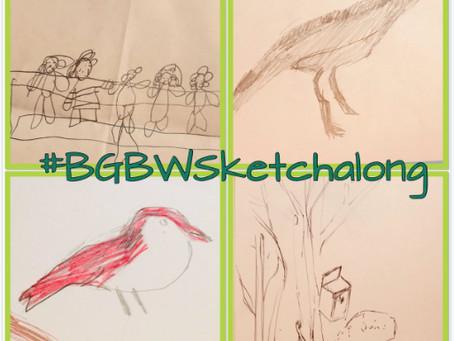 Big Garden Birdwatch Sketchalong