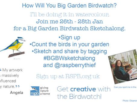How will you Big Garden Birdwatch?