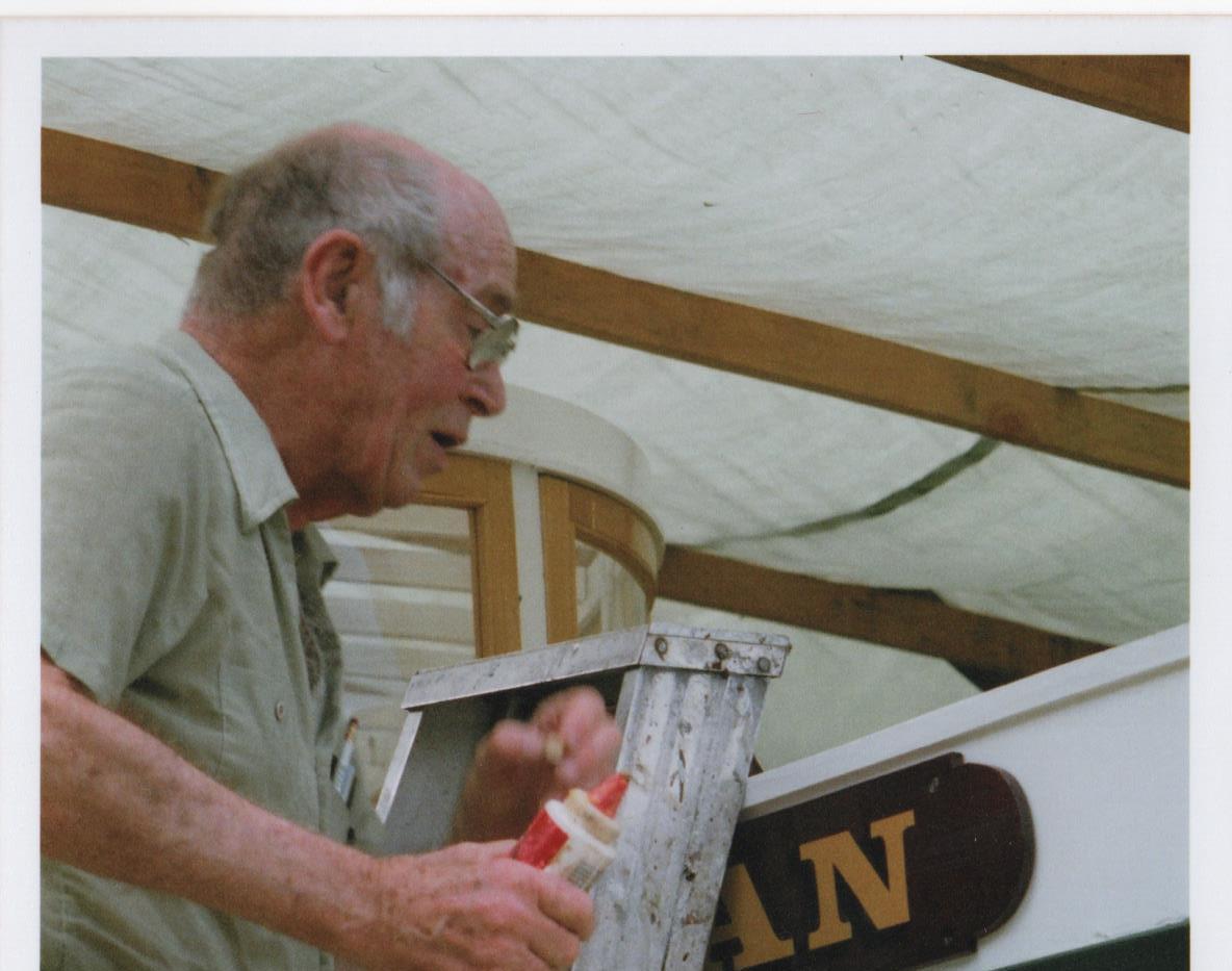 Art Skipsey Restoring the Swan
