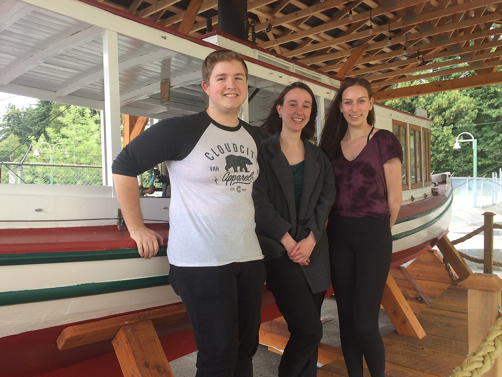 Summer 2018 Staff: Dylan, Mila, and Jenna