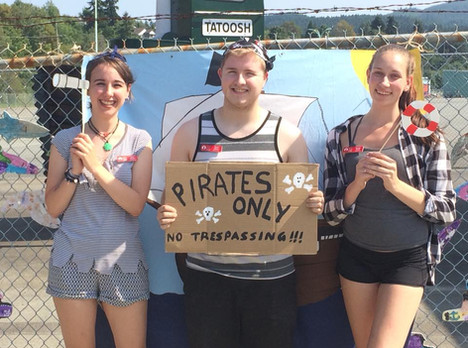 Pirate Day Staff Picture 2018