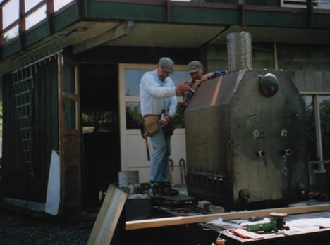 New Boiler for the Swan