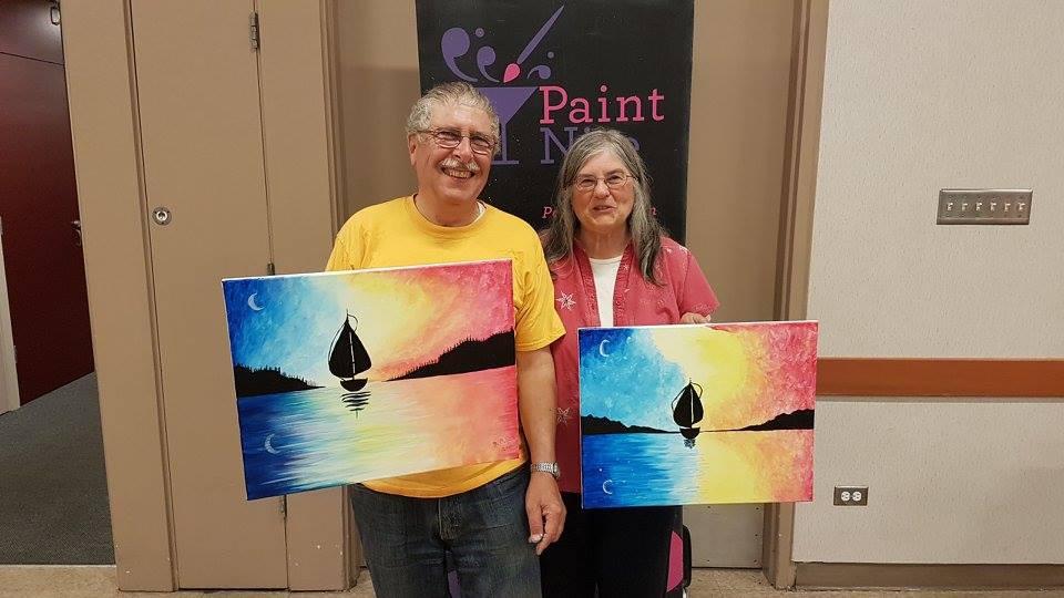 Board Members, Edna and David Cox