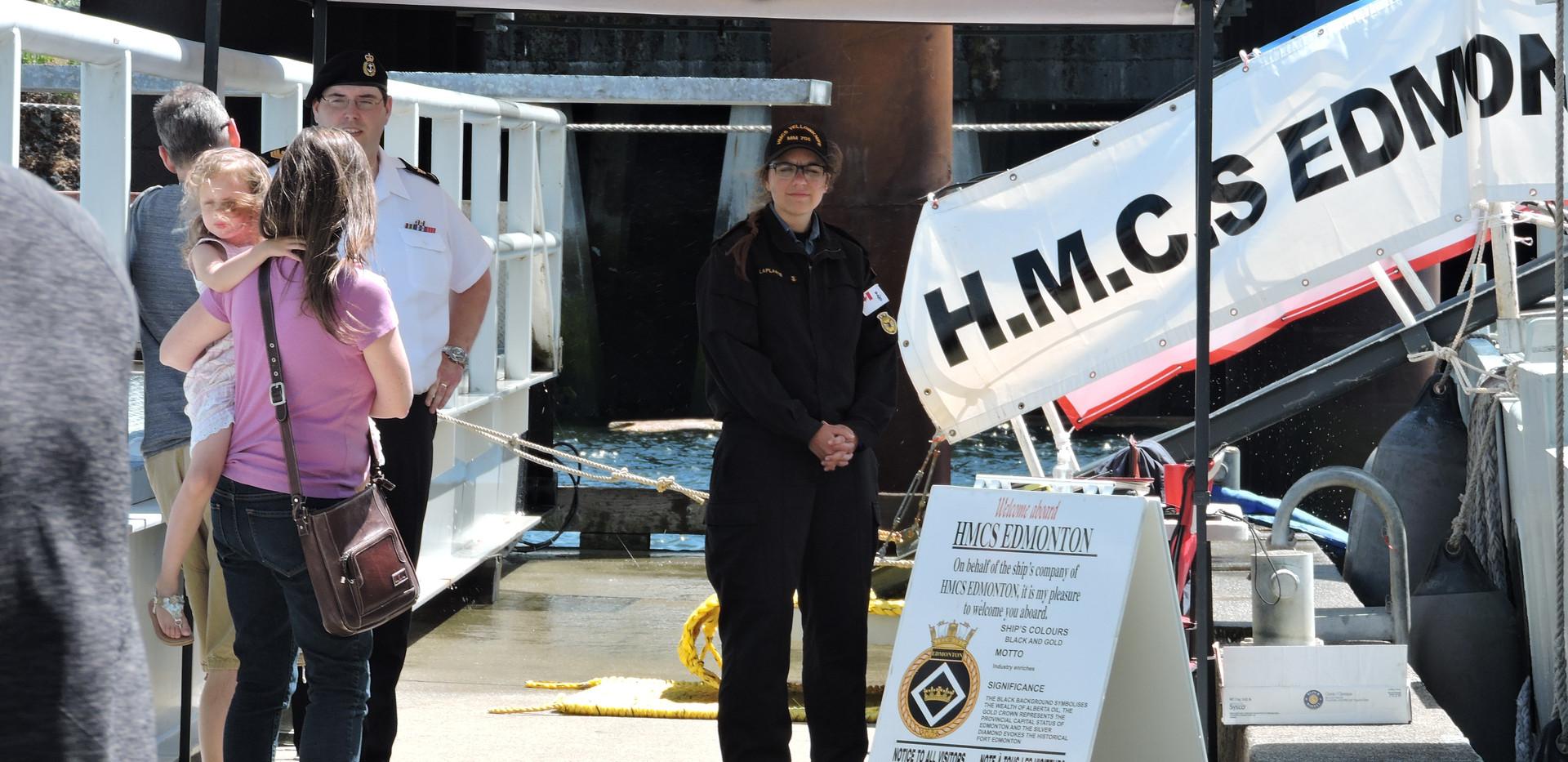 HMCS Edmonton 2017