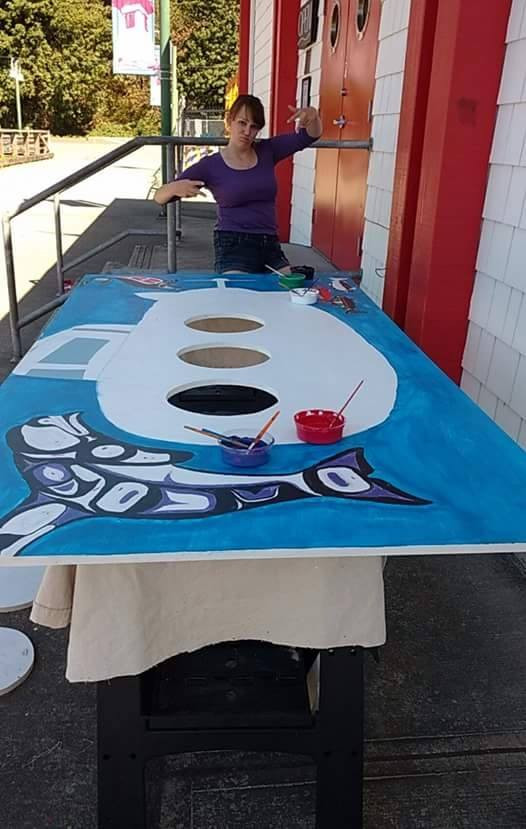 2016 Peak-Through Board Painting