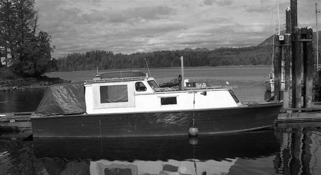 The NAHANNI as she appears today with rebuilt cabin