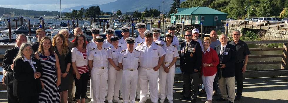 Navy Reception Group Photo