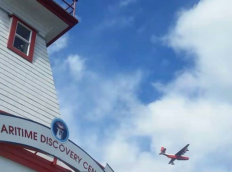The Waterbomber & The Lighthouse