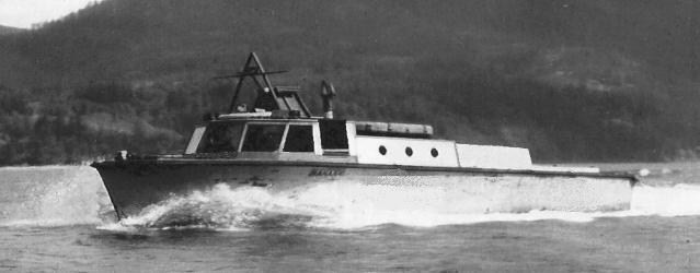 The NAHANNI Ex RCAF M-264 in 1960. Note the almost untouched appearance from WW2 with the exception of the added cabin extension.