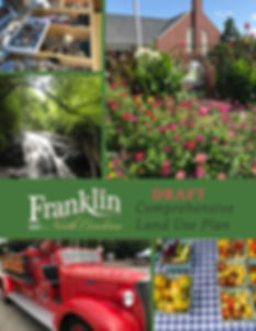 Cover of Franklin Town Plan_Draft B_2020