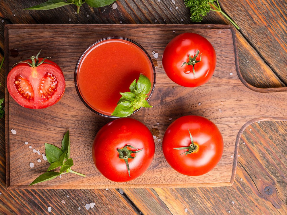 tomato juice,immune system boost up, elate wellbeing