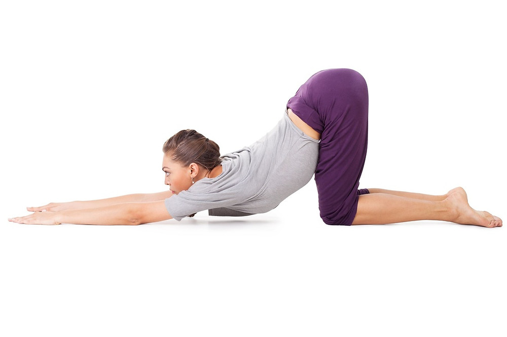 puppy pose,insomnia yoga pose,elate wellbeing