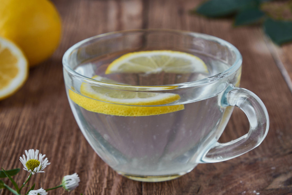 warm lemon water,morning ritual,elate wellbeing