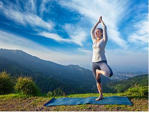 tree pose meditation, 1 minute meditation, elate wellbeing