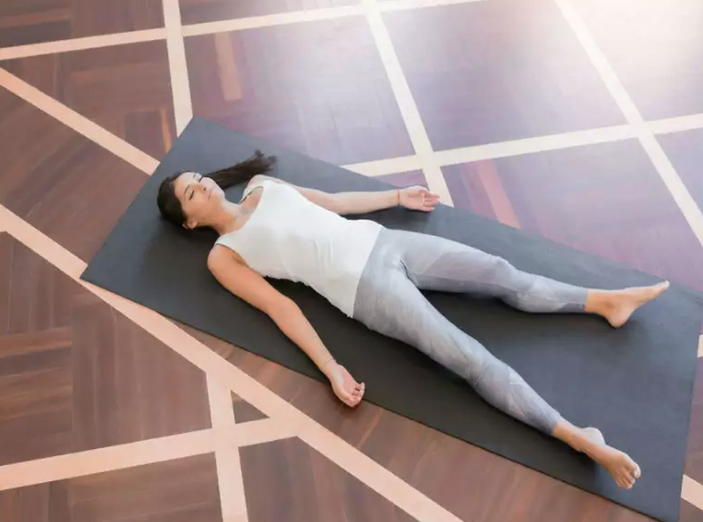 shavasana,yoga,mental wellness,elate wellbeing