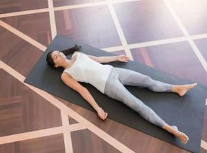 shavasana,yoga,mental wellness,elate wellbeing