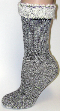 OUTDOORSMAN ALPACA Heavy Weight Boot  Socks-Size  L-10-13 U.S Grown Alpaca