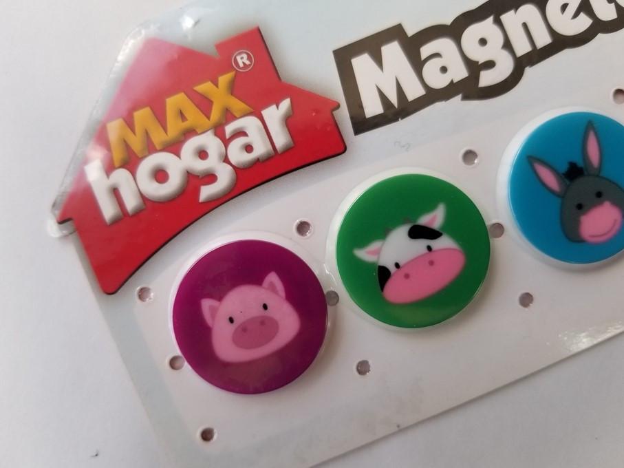 Imanes decorativos Max Hogar