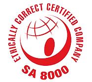 SA 8000 ethical usine