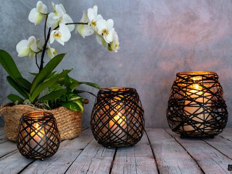 Décoration - notre sélection photophores & lanternes.