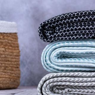 Plaid Tisse Textile