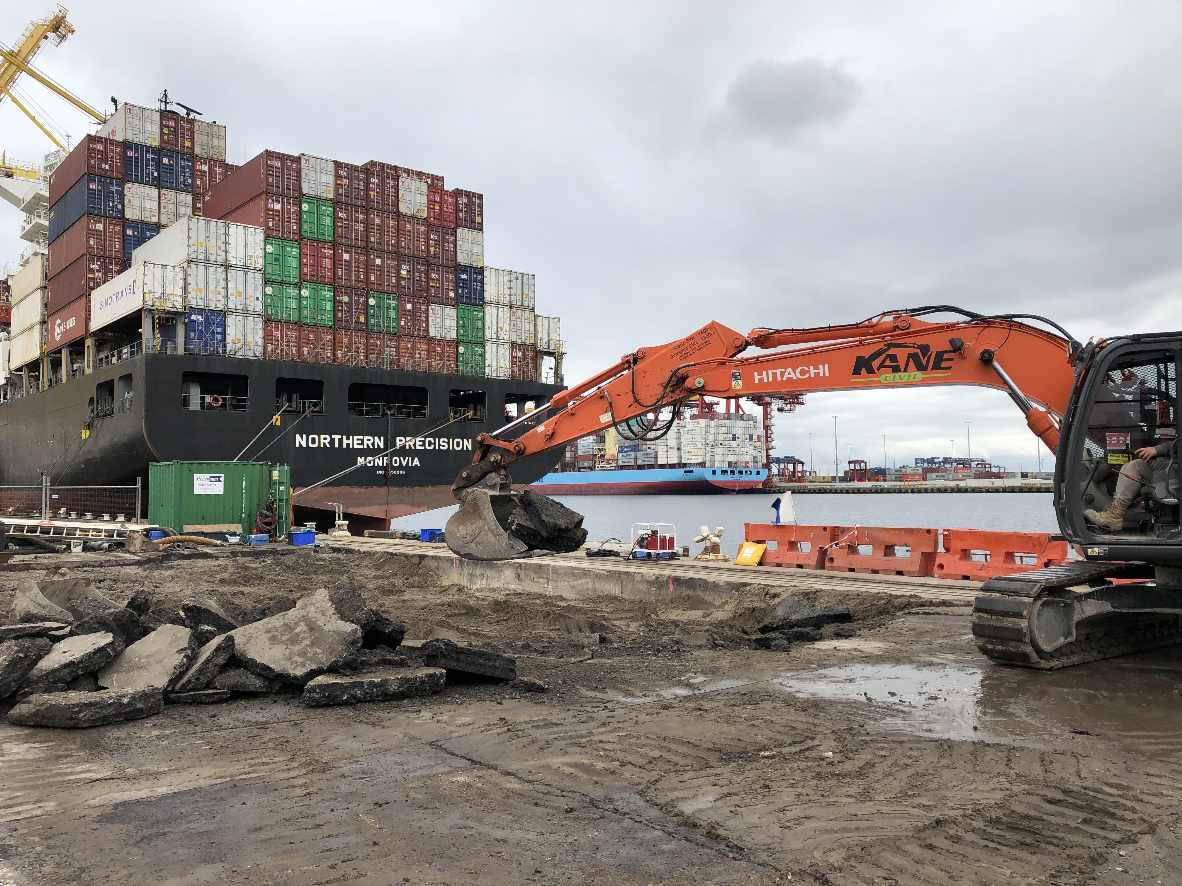 Port Botany Dock Remediation