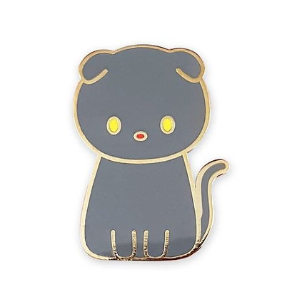 Scottish Cat Enamel Pin