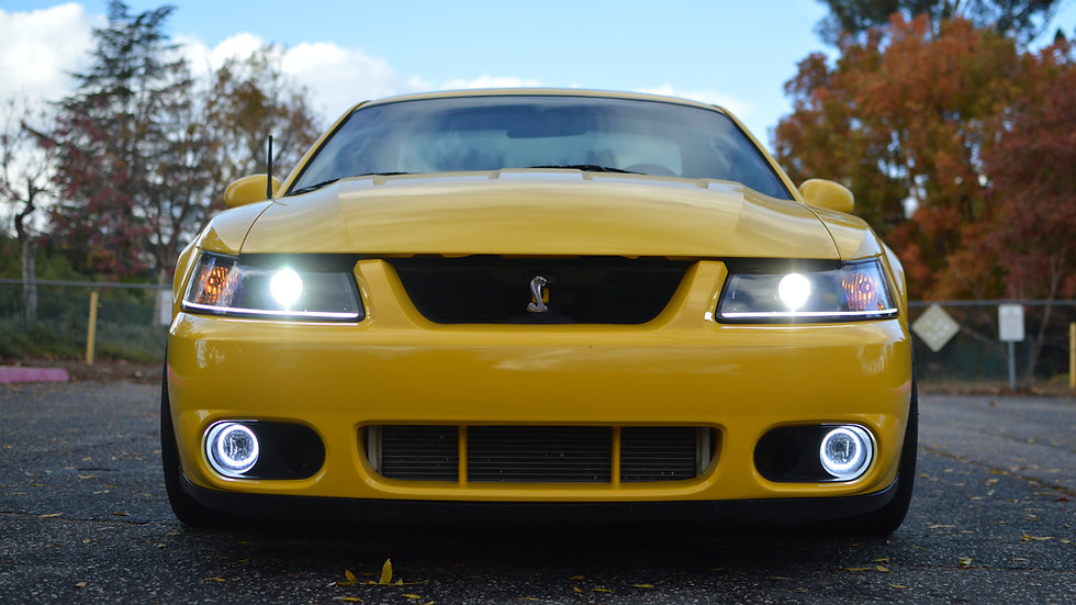 Cobra Halo Fogs (Switchback / Color Changing) PAIR