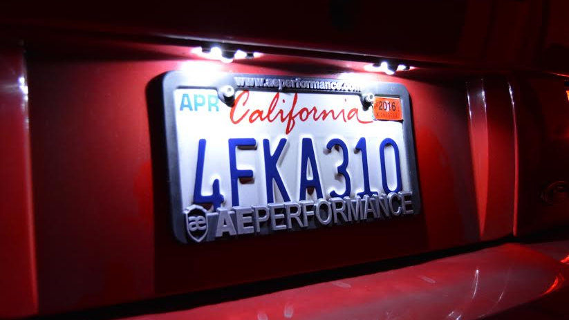 LED License Plate KIT