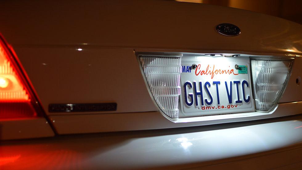 Crown Victoria LED License Plate Kit