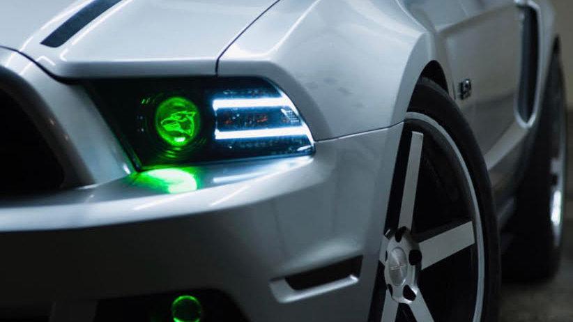13-14 Mustang Custom Headlight Service