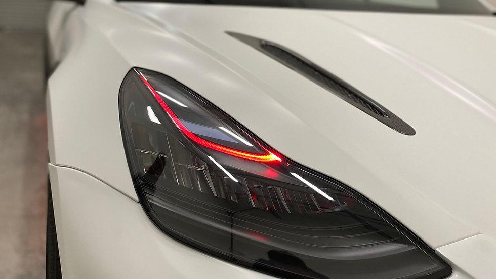 Tesla Model 3 Custom Headlight Service