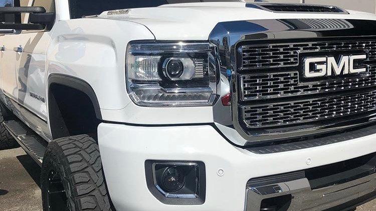 GMC Sierra Headlight