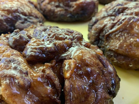 We made a double batch of Apple Fritters yesterday and...