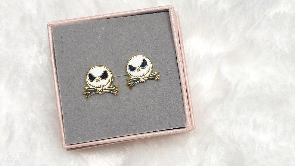 Pumpkin King Earrings