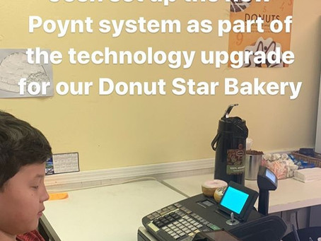 We added a new point-of-sale system this past weekend.