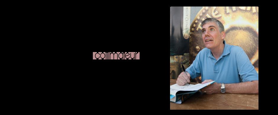 Un auteur dans le collimateur- Rick Riordan