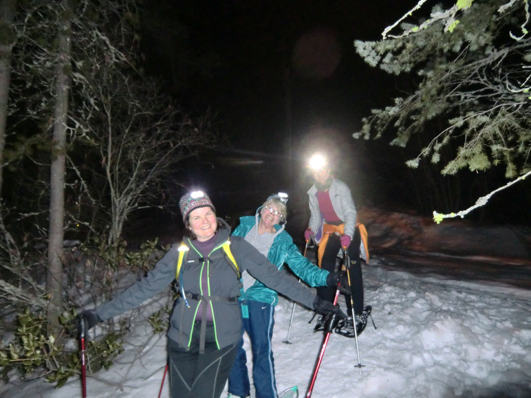 Moonlight Snowshoe Tours