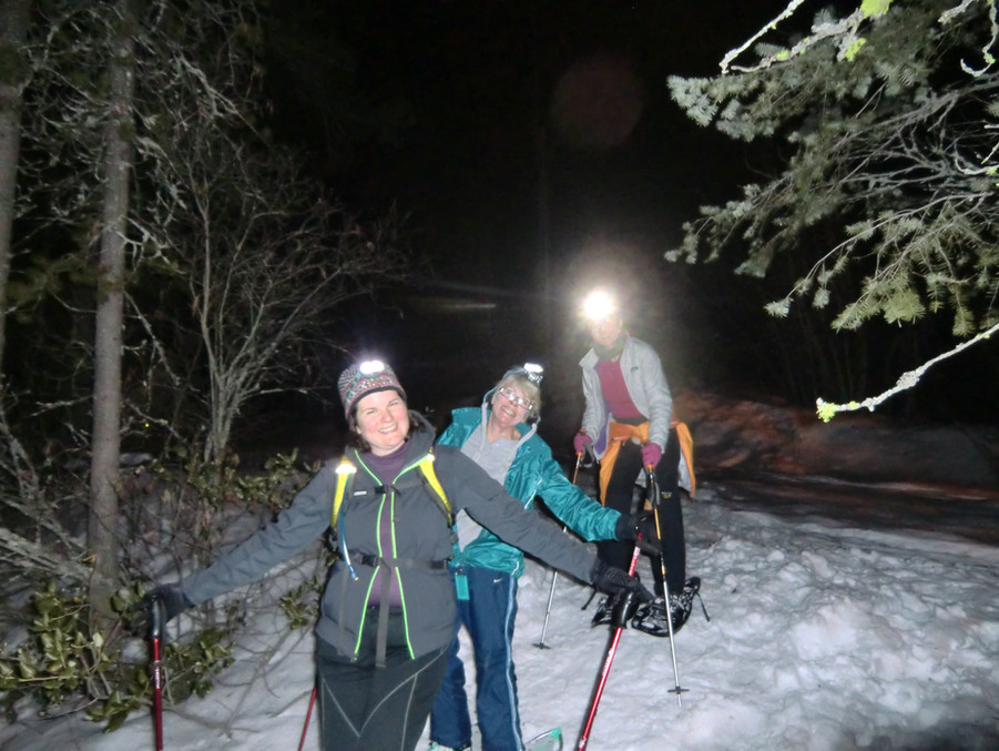 Moonlight Snowshoe Tours