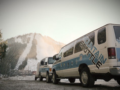 Mountain Shuttle will get you to the mountain