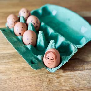 残り少ない時の卵ケース
