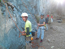 Schnupperklettern am Fels | Felsklettern Schnupperkurs